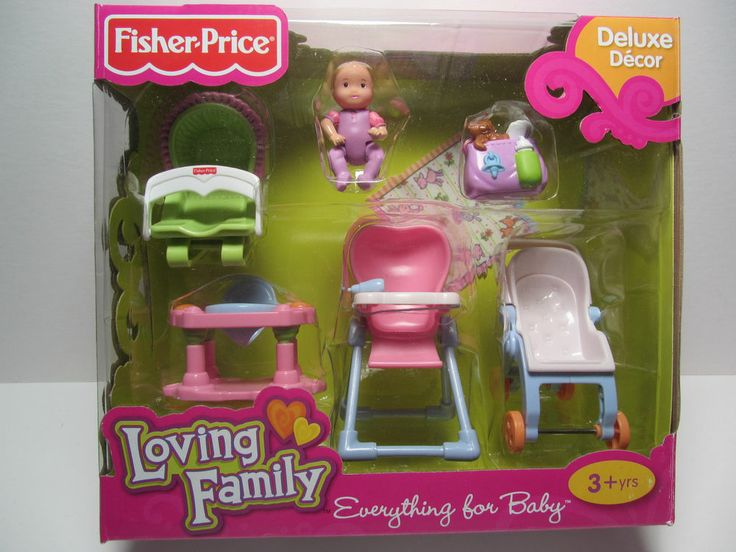 New Everything For Baby Fisher Price Loving Family
