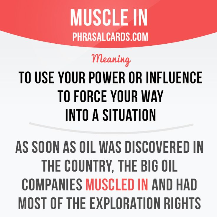 Muscle in #English