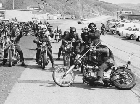 Club de motos vintage Idaho