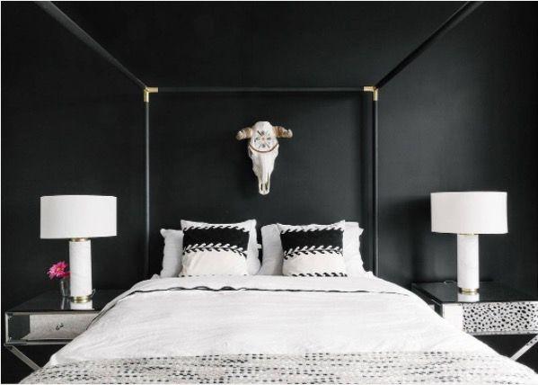 Heerlijk wegdromen: de 15 mooiste donkere slaapkamers van Instagram