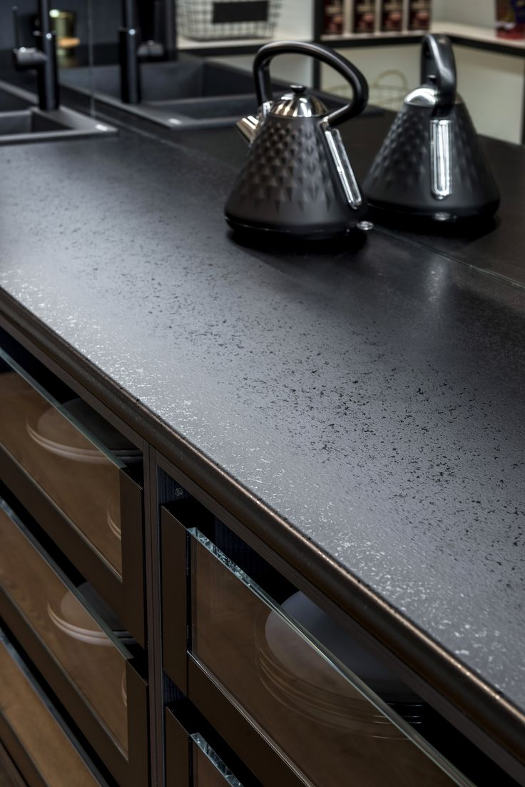 129 best NOIR Style images on Pinterest | Black kitchens, Kitchen ...