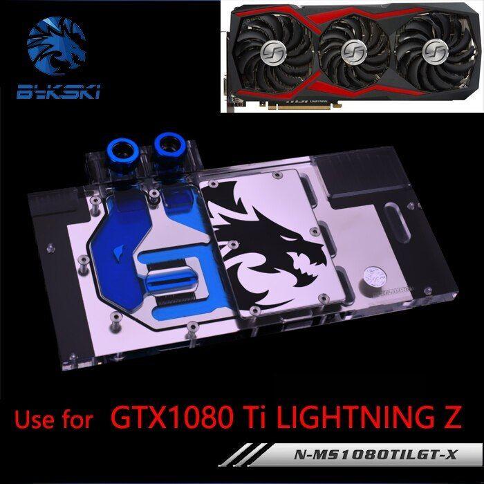 Bykski Water Block Use For Msi Gtx1080ti Lightning Z Full Cover