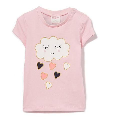 Cloud Tee by Milky Sizes 0000-0