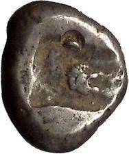 455BC Artaxerxes I Darius III Achaemenid Silver Greek LION SIGLOS Coin i53570 https://trustedmedievalcoins.wordpress.com/2016/02/14/455bc-artaxerxes-i-darius-iii-achaemenid-silver-greek-lion-siglos-coin-i53570/