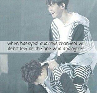 Baekyoel and chanyeol fact. Exo