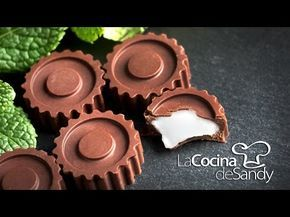 Bombones de chocolate licor y cerezas para dia de San Valentin - YouTube