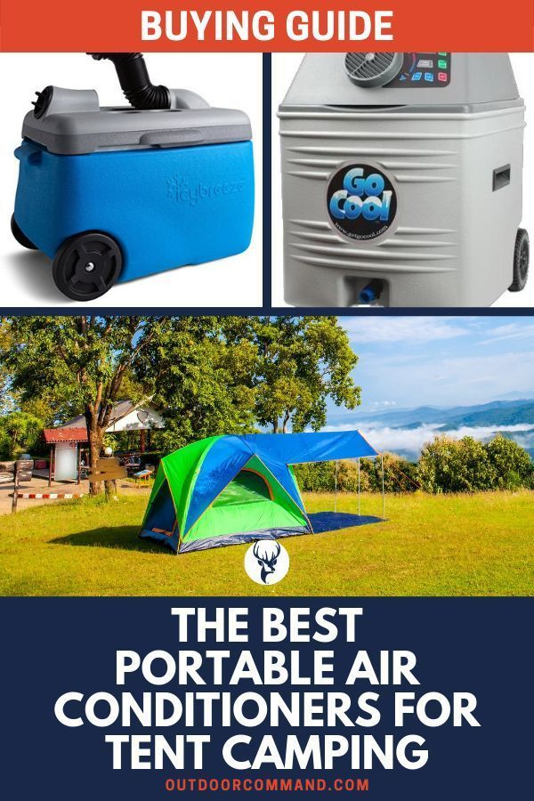 The Best Portable Air Conditioners For Tent Camping in