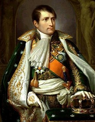"Napoleon, we were both born on August 15th. He undug the pyramids and wrote the ""Napoleonic Codes"" for gentlemen."