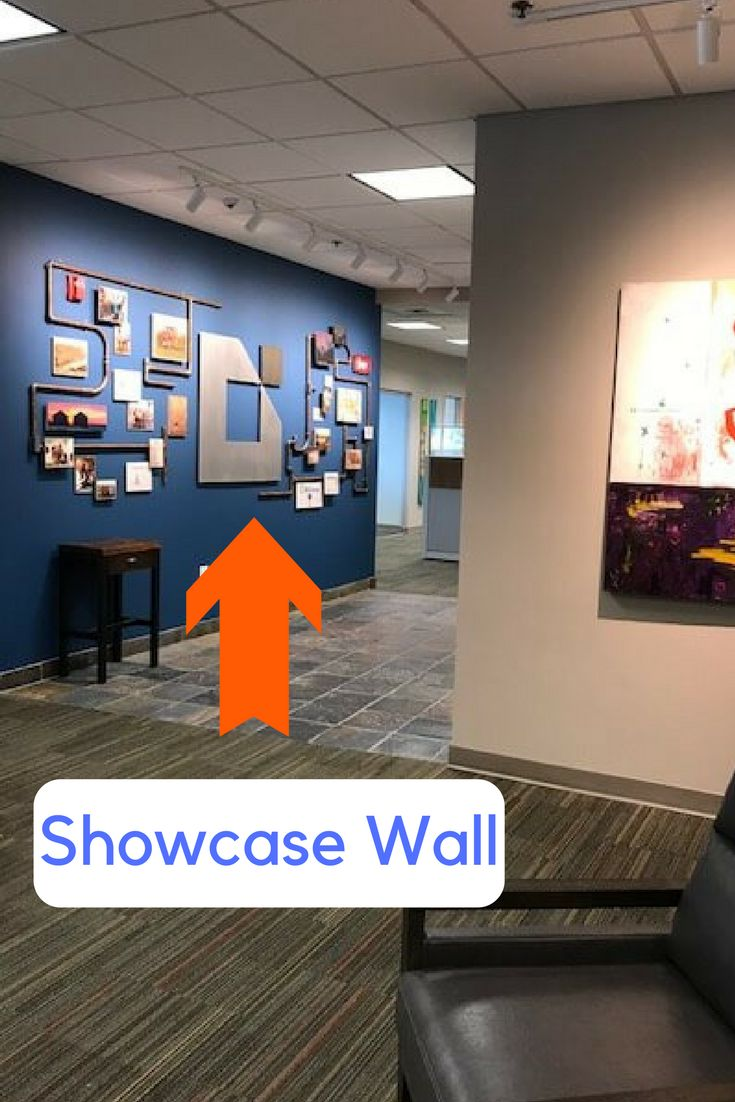 office art ideas. Office Showcase Wall - The Mixture Of Pictures \u0026 Metal Sculpture Really Capture Vision Art Ideas .
