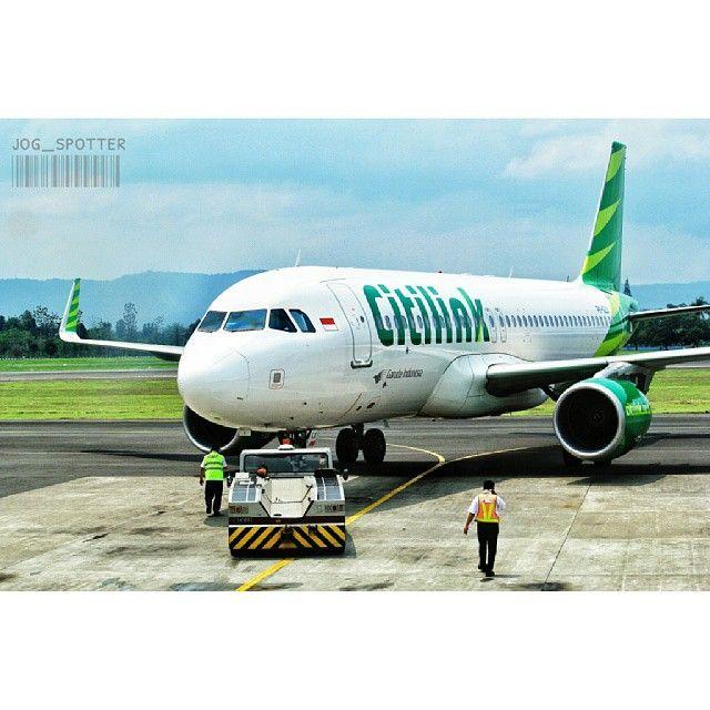 PK-GLX  Airbus A320-214 Citilink  Flight as QG9173 - Route JOG-PKU Photo by jog_spotter   christianritch @jog_spotter Instagram photo   Websta (Webstagram)
