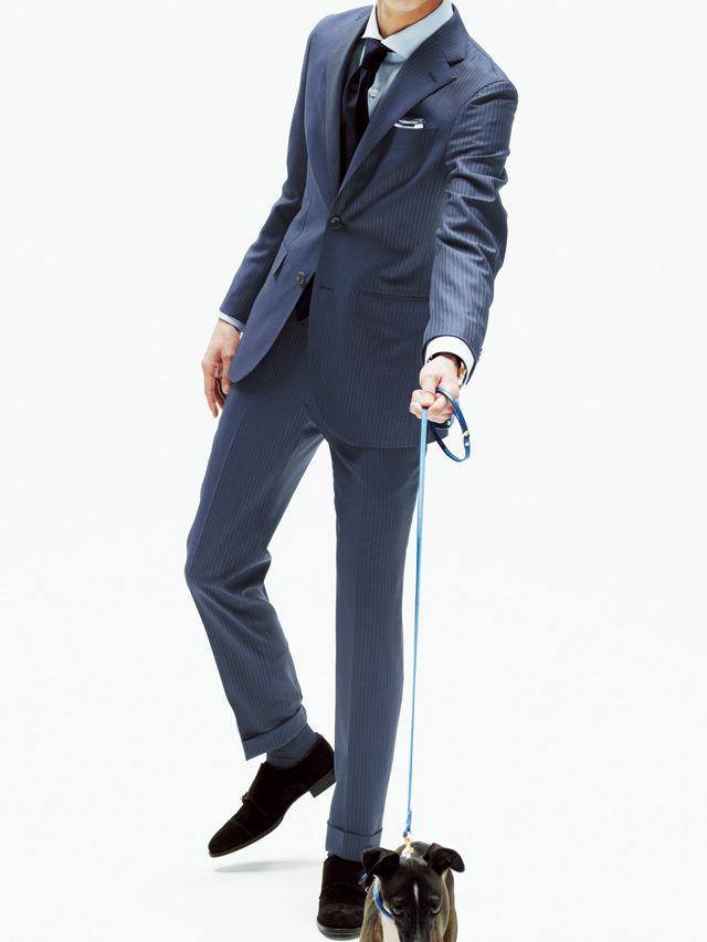 シルエット細身のイタリアンスタイル <20代メンズおすすめスーツ>