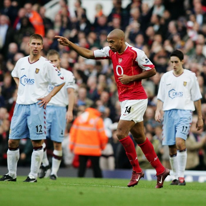On This Day 16, Oct in 2004, Arsenal go 49 games unbeaten.