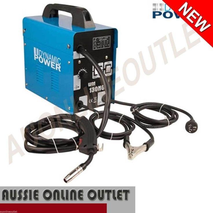NEW Gasless MIG Welder 130 AMP Heavy Duty Portable Welding Machine 10 Amp Plug