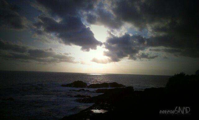 """Sunset Beach - Menganti Beach, Kebumen, Central Java, Indonesia"""