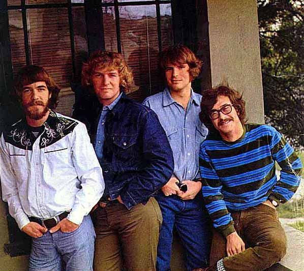 * Creedence Clearwater Revival *  USA. (Doug Clifford, Tom Fogerty, John Fogerty, Stu Cook).