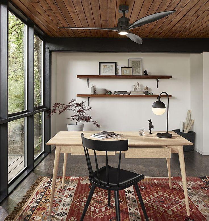 Prepara tu casa para el verano con un ventilador de techo moderno - https://decoracion2.com/verano-ventilador-de-techo-moderno/ #Casa_En_Verano, #Refrescar_El_Ambiente, #Ventiladores_De_Techo