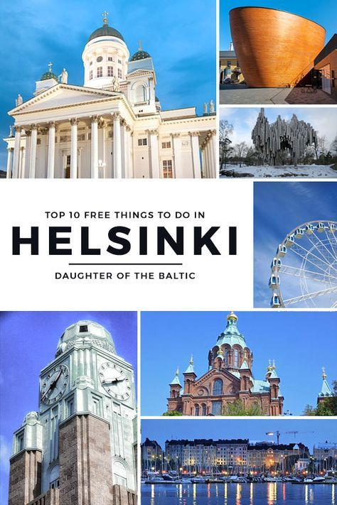 Here are the top 10 FREE things to do in Helsinki, Finland