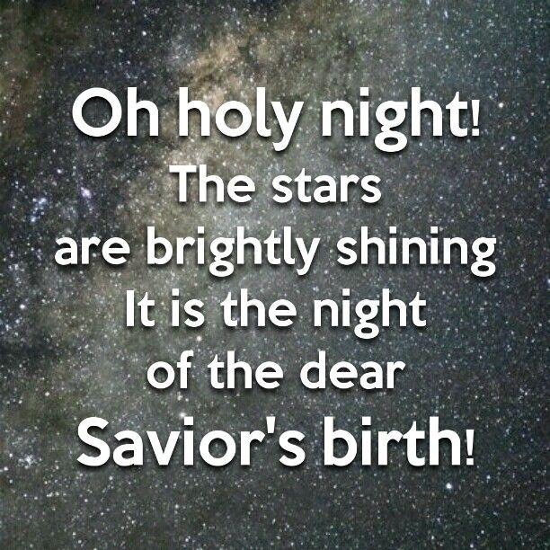 Oh Holy Night! | Holidays! | Pinterest