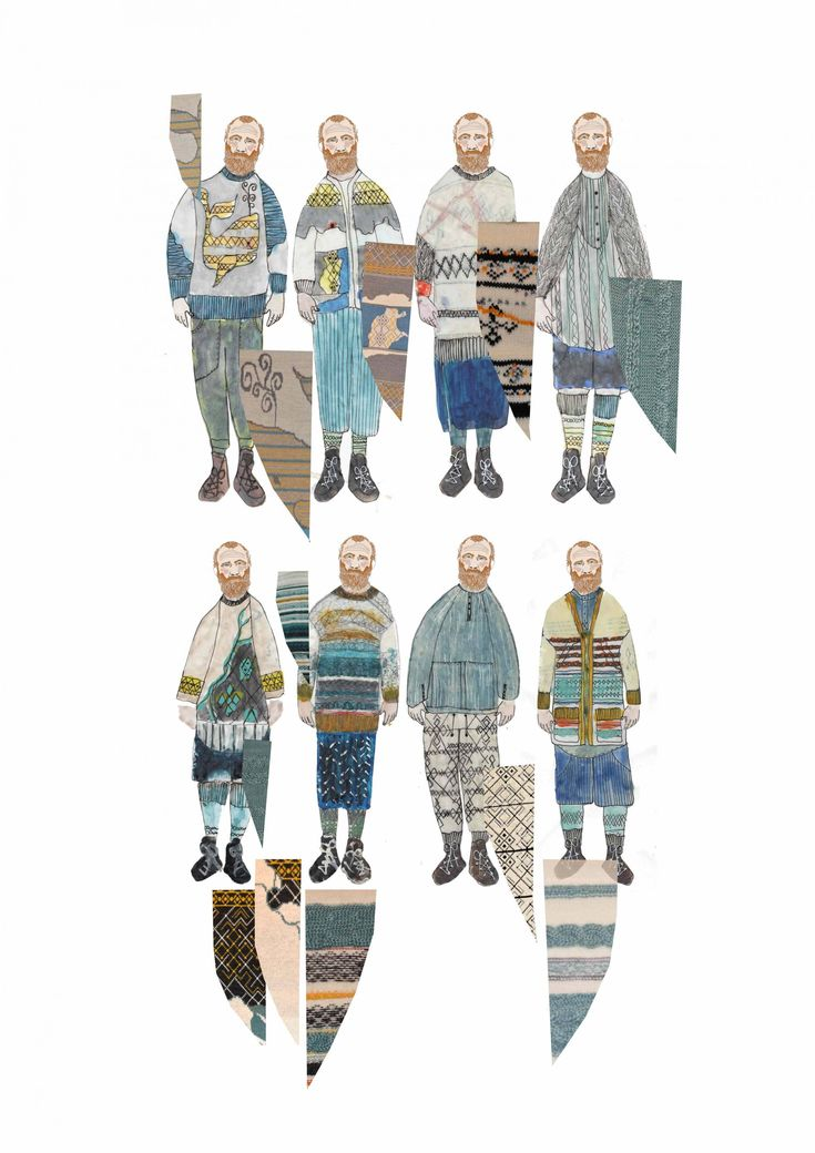 Fashion Sketchbook - fashion illustrations; knitwear design; fashion portfolio // Suzanna James