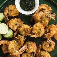 Креветки в кляре | Еда, Рецепты приготовления, Праздничная еда
