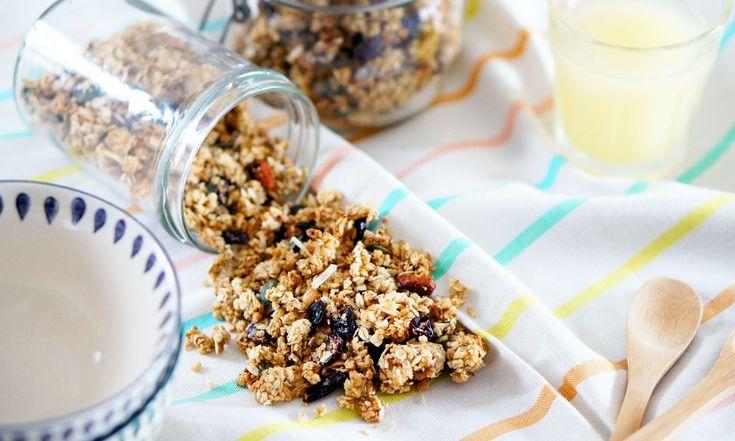 Recette : Granola maison aux fruits secs par Pretty Chef.fr