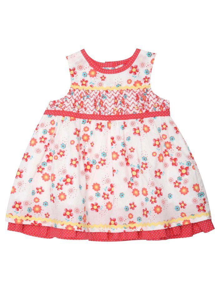 Sleeveless summer dress.