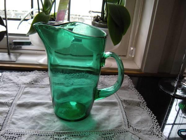 Pen grønn mugge - ca. 1970-tallet - perfekt stand - Selges av husbonden fra Stavanger på QXL.no