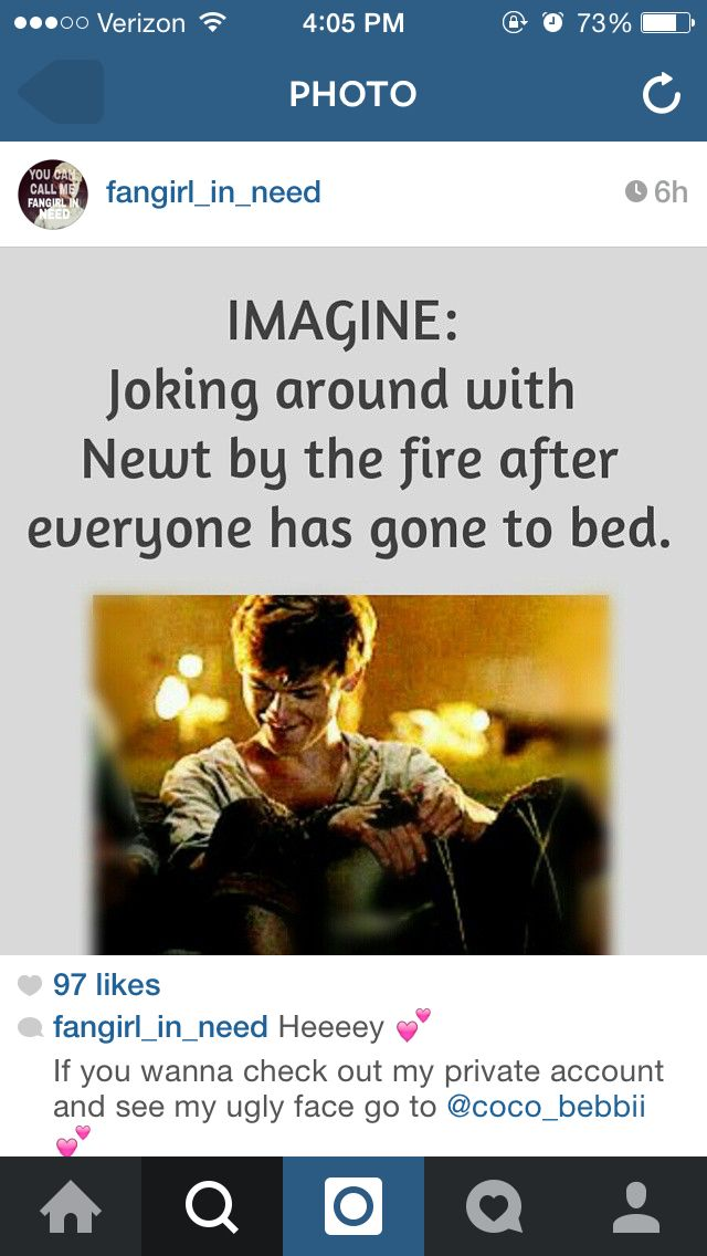 Newt imagine | The Maz...