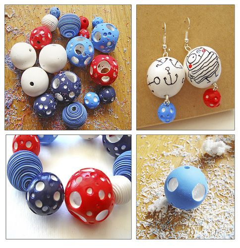Hollow beads photo tutorial, great idea!