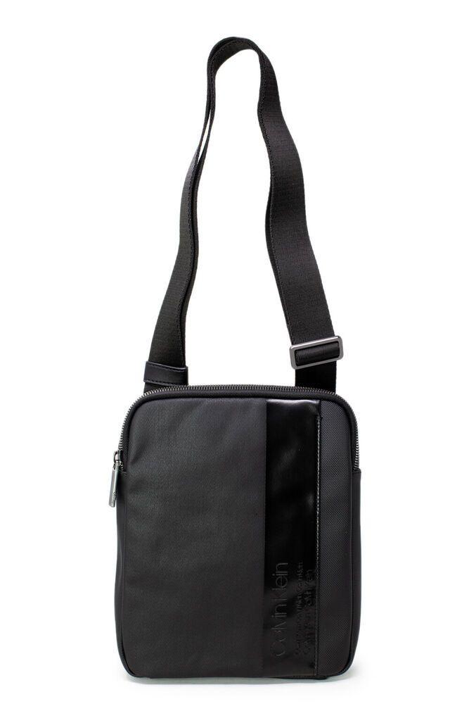 Ebay Sponsored Calvin Klein Man Bag Elevated Mix Flat Cr K50k504356 Man Bag Calvin Klein Men Leather Billfold