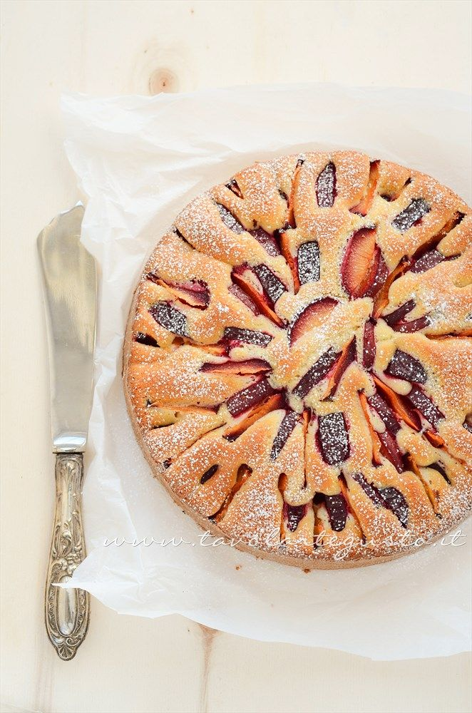 Torta di prugne: soft and sweet, perfect fall cake