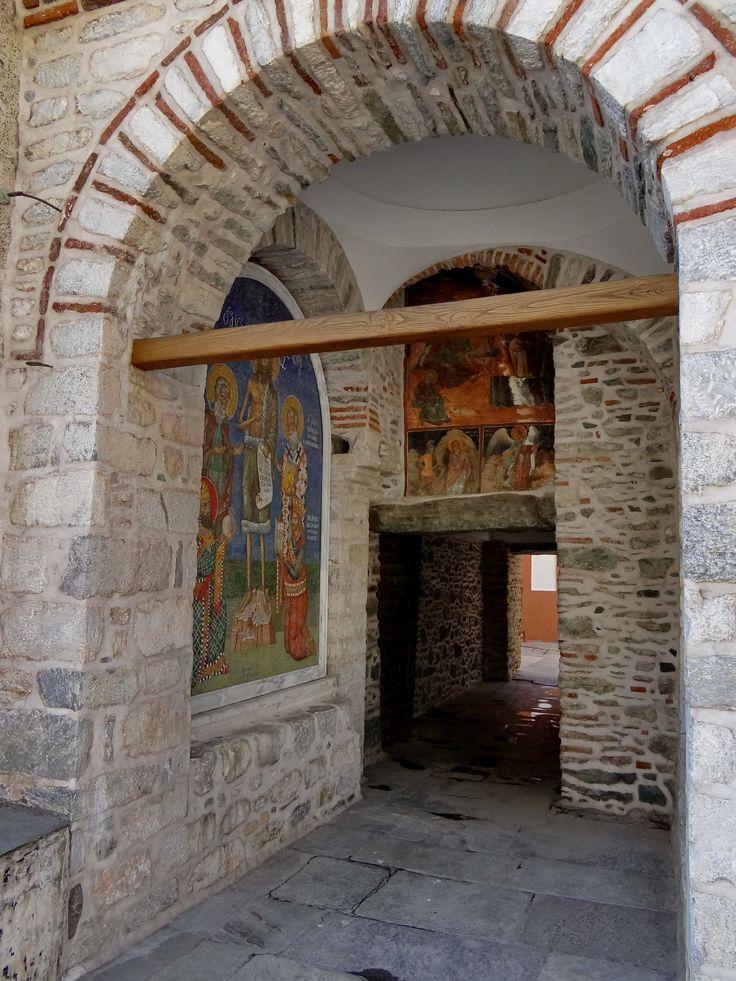 Gate - Dionysiou Monastery, Agion Oros