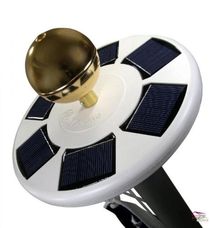 Solar Flag Pole Flagpole Light Flagbeam Technology LED Downlight Night Lighting #Deneve