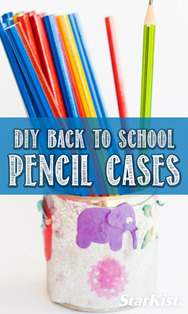 Make your kids the coolest pencil cases for school with these DIY projects!