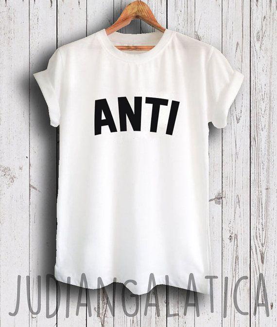 rihanna shirt anti shirt rihanna tour shirt by JudianGalatica