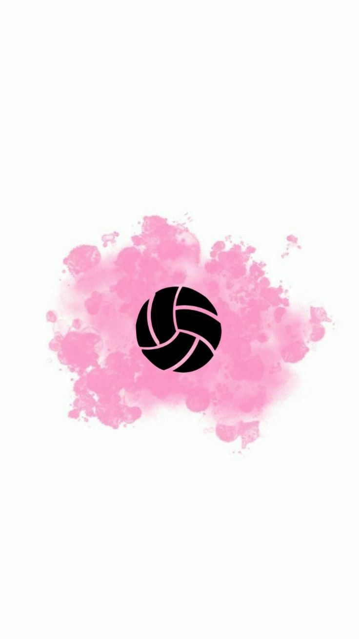 Destaque Bola De Volei Capa Destaque Bola Capa Destaque Volei In 2020 Volleyball Wallpaper Instagram Symbols Instagram Logo