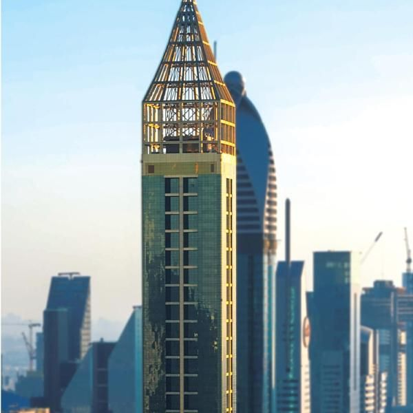 Gevora Hotel Boasting The Title Of The Tallest Hotel In The World The 4 Star Gevora Hotel Is Located On Dubais Sheikh Zayed Road In The T Hotel Dubai City View
