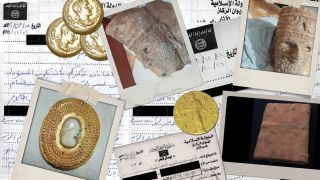 HISTORY AT STAKE Meet the lonely online warriors leading the fight against looted art