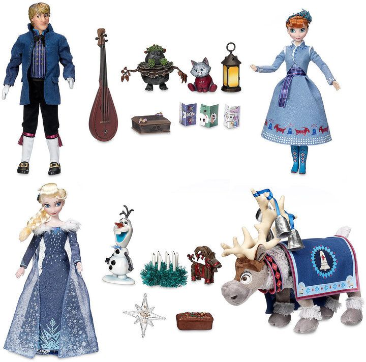 Disney Olaf's Frozen Adventure Singing Doll Gift Set