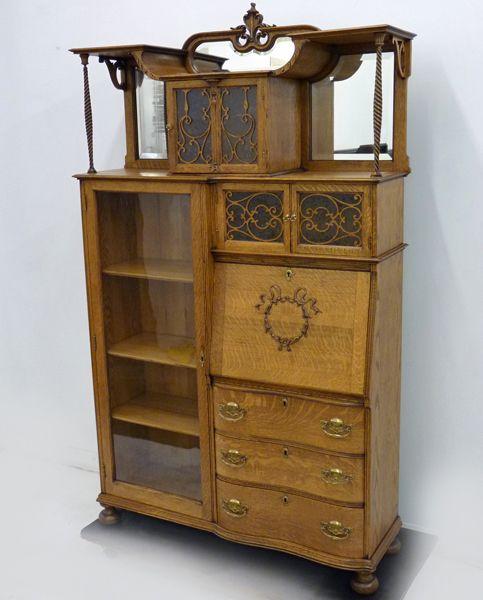 Outstanding Side by Side Secretary Desk - Up the Creek Antiques - 111 Best Victorian Side-By-Side Secretary Desks Images On