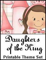 Daughters of the King Printable Set