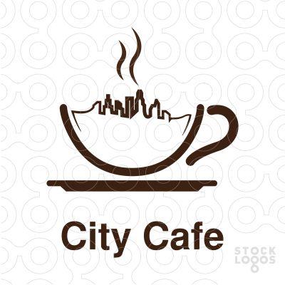 how to make a cafe logo