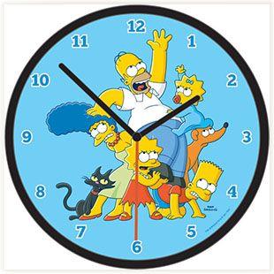 Horloge Famille Simpson #simpson #decofun
