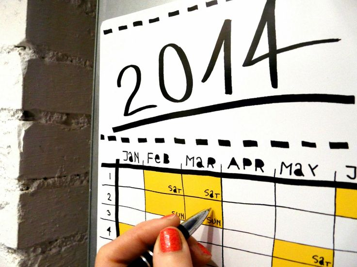 calendar 2014 by TIU TIU