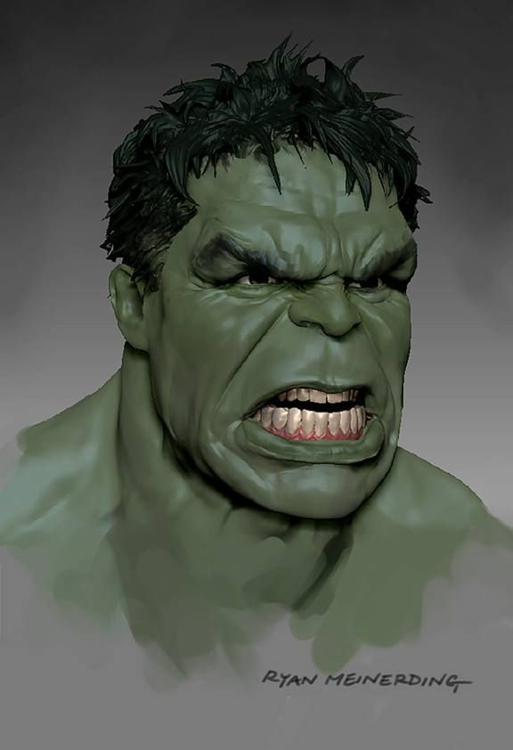 Avengers: Age of Ultron's amazing concept art includes Happy Hulk, more terrifying Ultron | Polygon