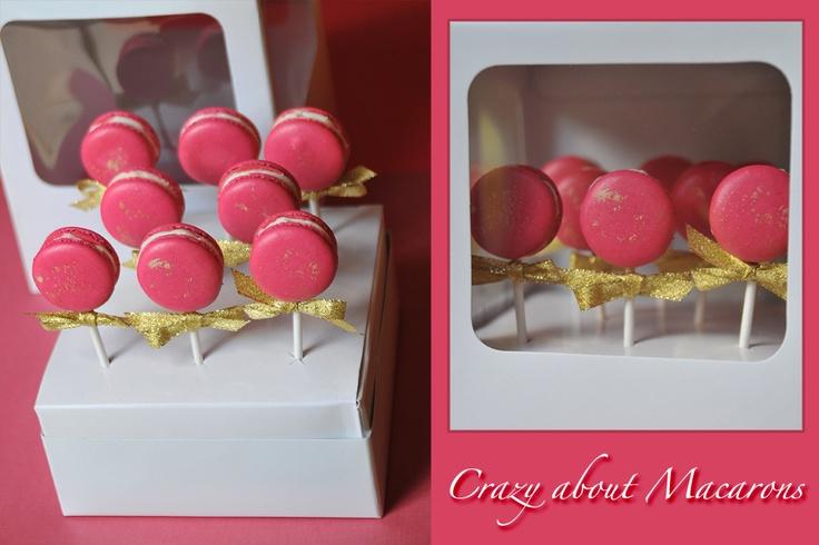 Pink macaroons!