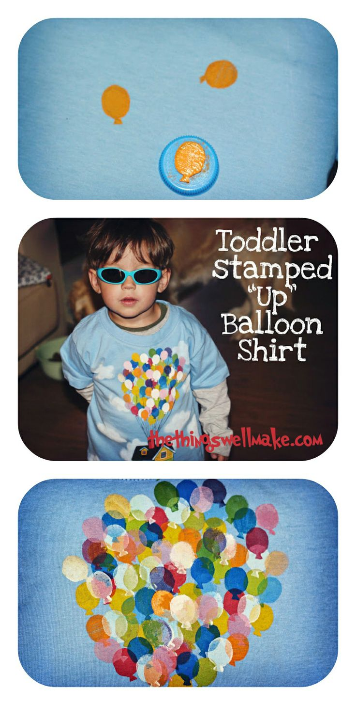 Stamped Up House Balloons Shirt