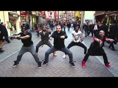 Guillaume Lorentz - Macklemore (Can't Hold Us) - Exclusive Hip Hop Dance in Japan - YouTube