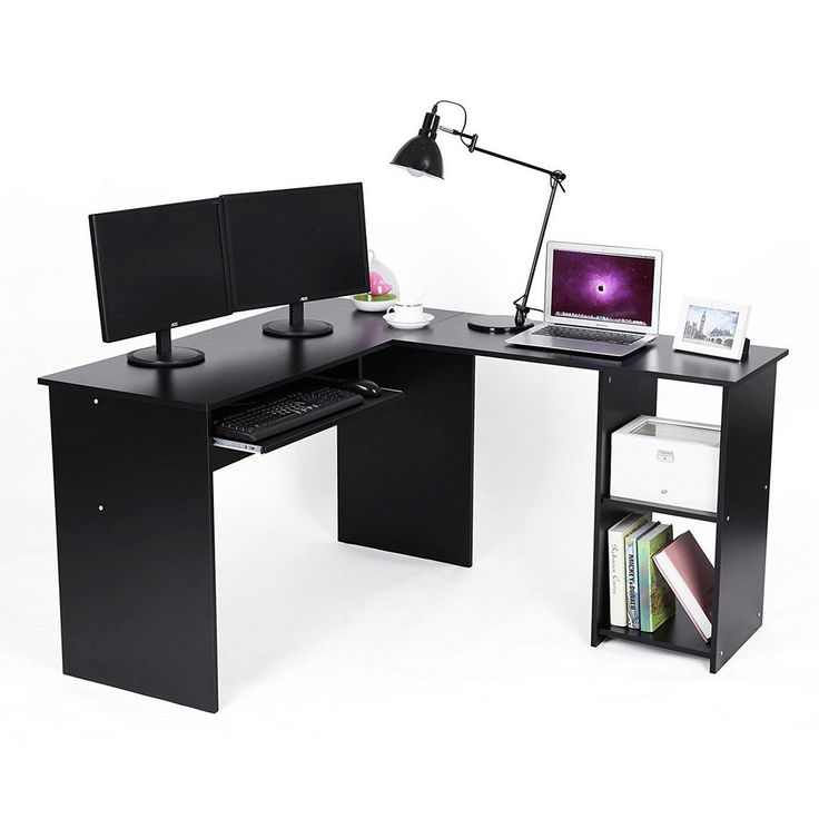 Small White Corner Computer Desk - Best Home Office Desk Check more at http://www.shophyperformance.com/small-white-corner-computer-desk/
