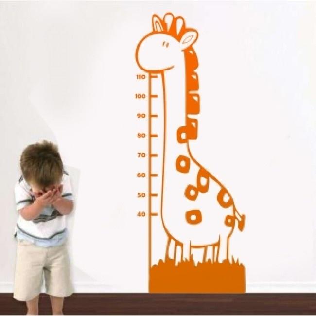 Adesivo de Parede Girafitta Régua